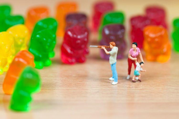 Süßigkeiten bei kindern