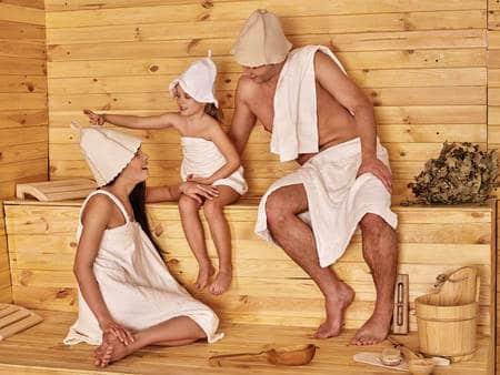 Mit Kindern In Die Sauna Gemeinsam Schwitzen Entspannen