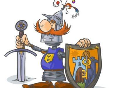 Mottoparty Ritter zum Kindergeburtstag