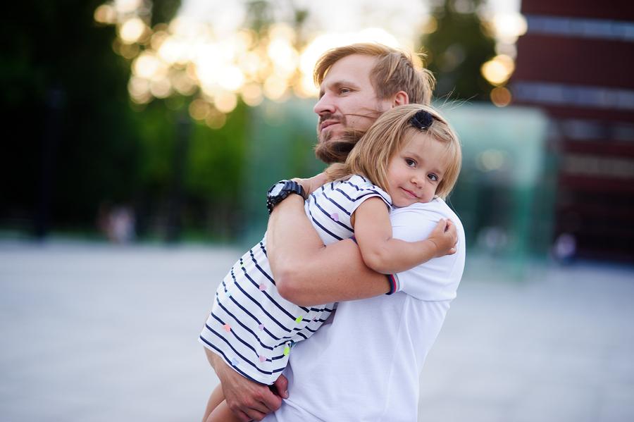 Gefühle Mann und Vater