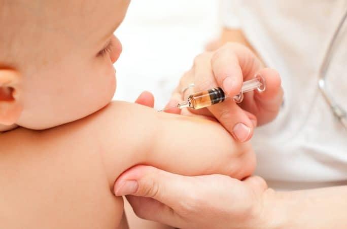 Dreifachimpfung bei Kindern