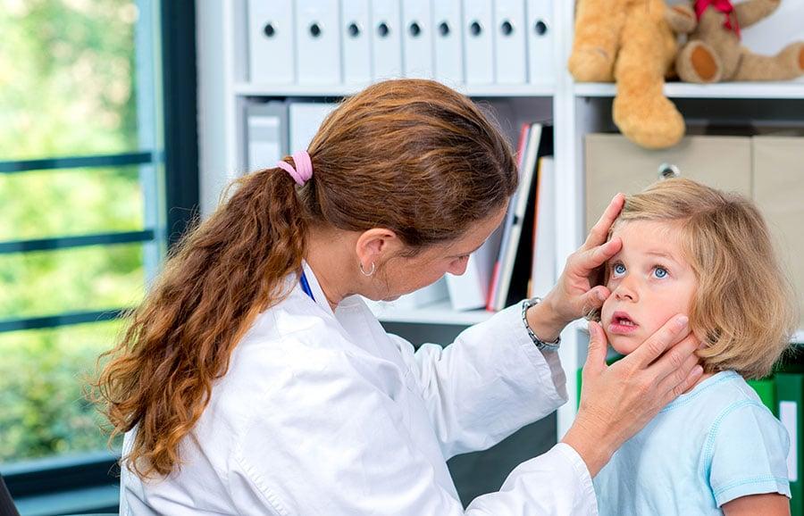 Bindehautentzündung bei Kindern