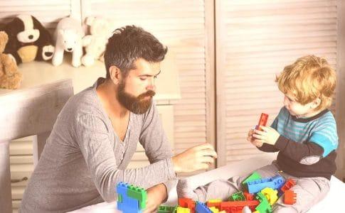 Lego-aufbauen