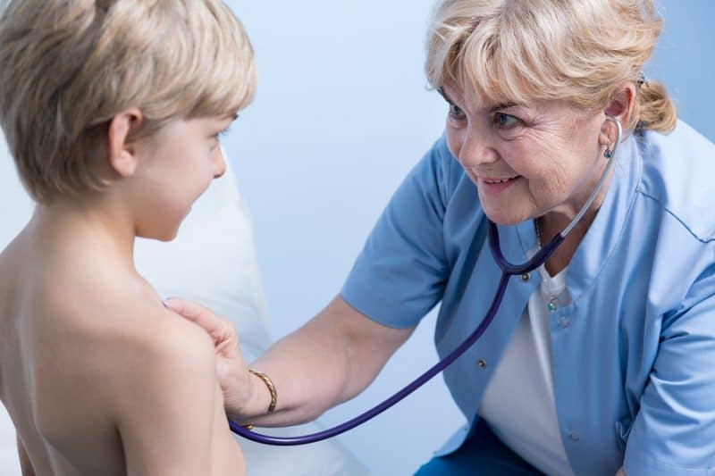 Brustschmerzen bei Kindern
