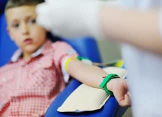 Wie wird bei Kindern Blut abgenommen