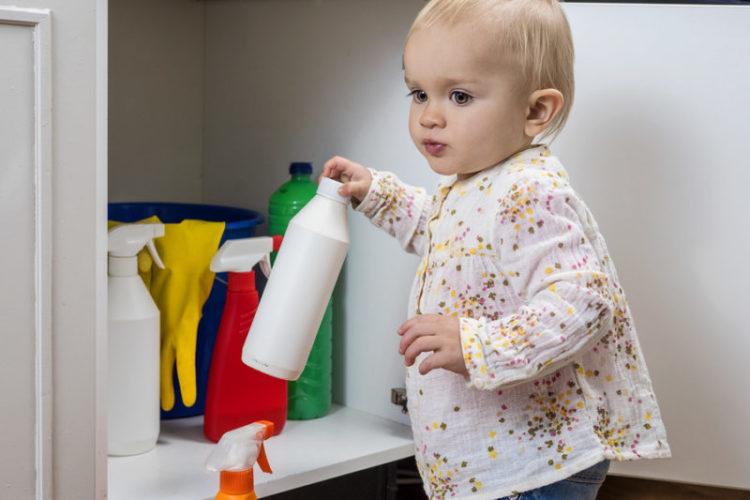 Vergiftungen bei Kindern