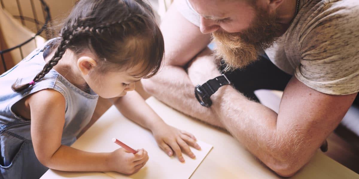 Begleite Dein Kind - als Vater