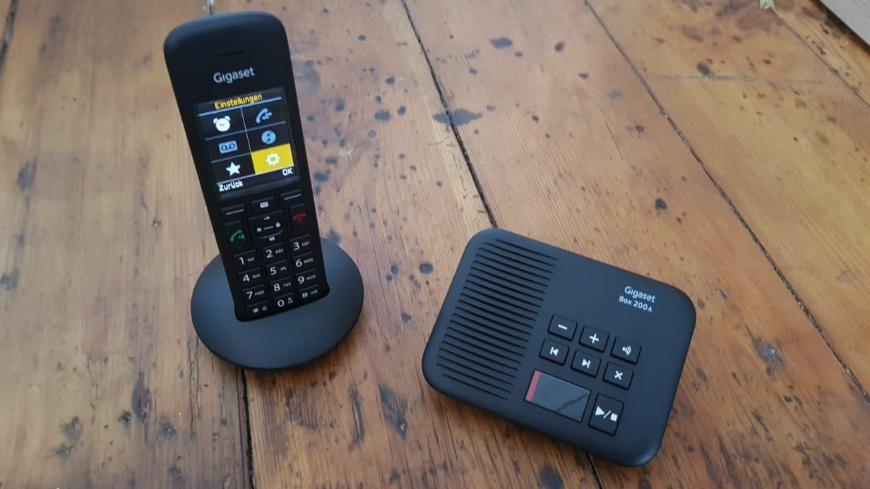 Unsere Großeltern werden digital: Das Gigaset C570 Telefon