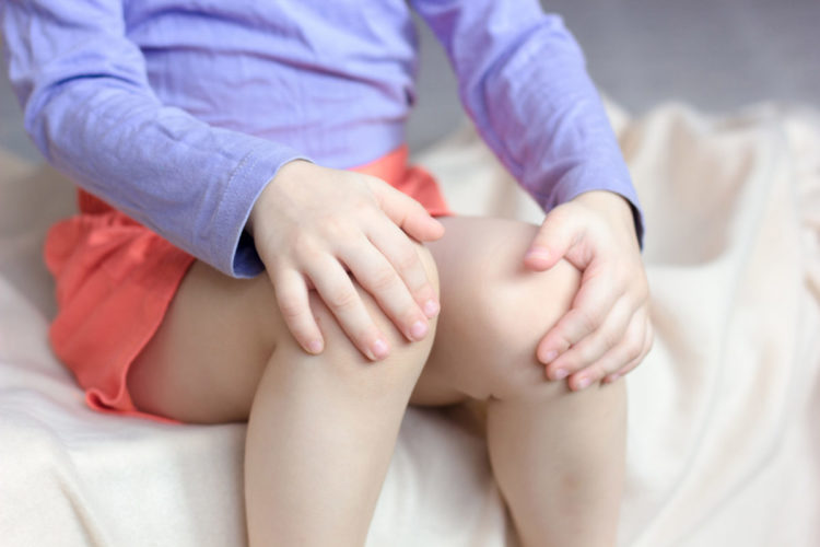 Knieschmerz bei Kinder