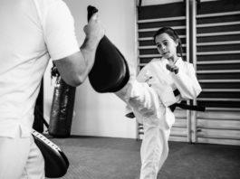 Kampfsport für Mädchen