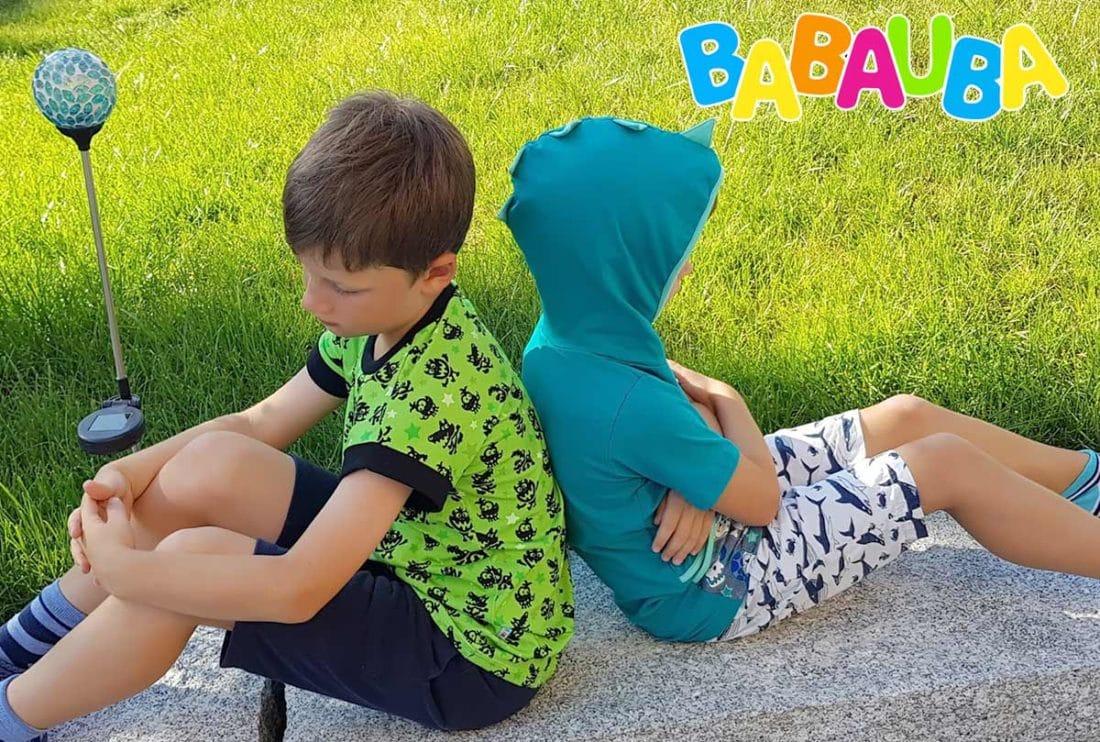babauda Mode, bunte Shirts für Jungen