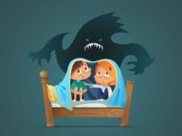 Nacht Angst bei Kindern