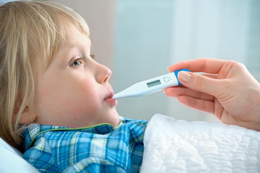 Fieber beim Kind