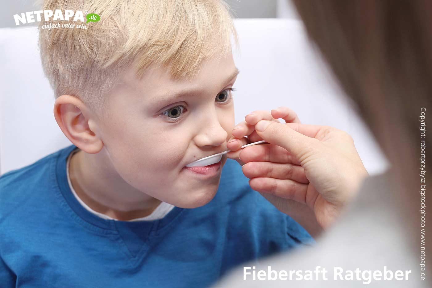 Wann wirkt Fiebersaft beim Kind