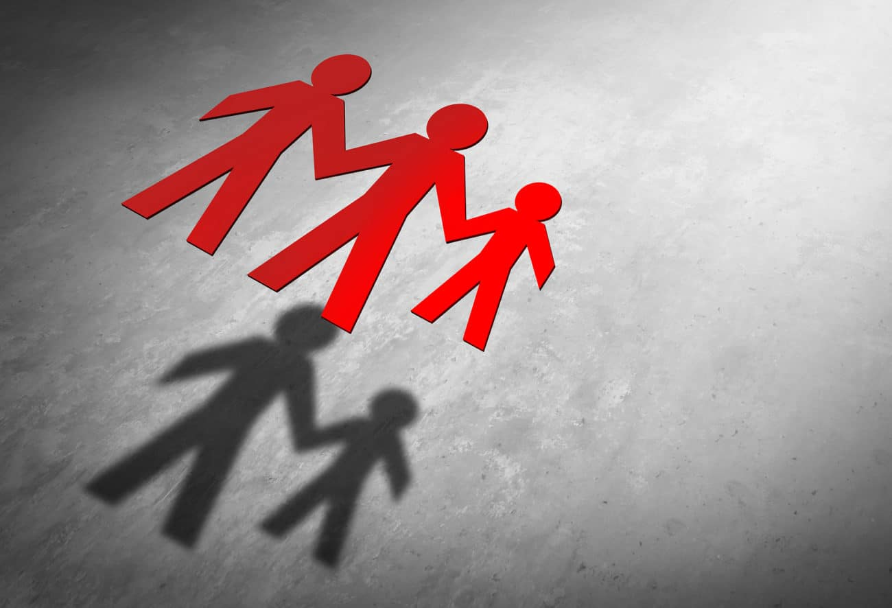 Trennung ihrer Eltern - Phasen der Trennungskinder