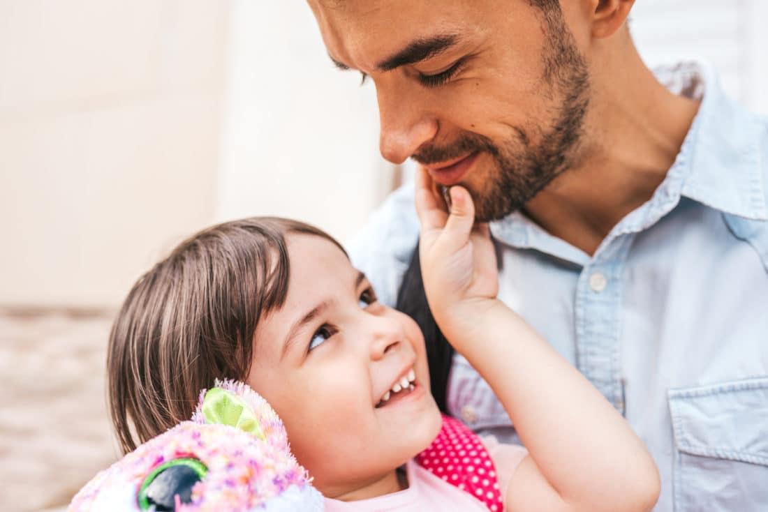Rolle des Vaters in der Tochter Erziehung