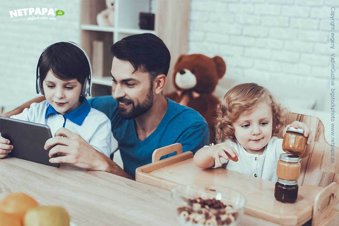 Vater-Kinder-Beziehung