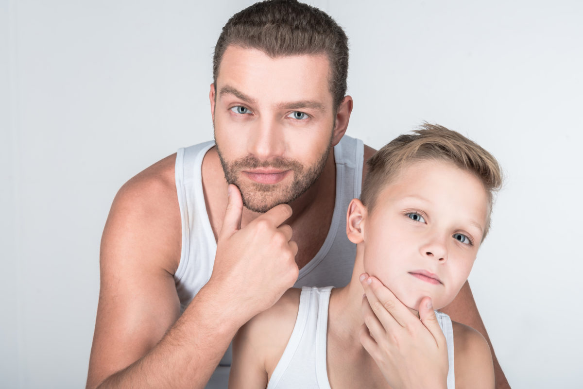 Als Vater dabei Pubertätsstart