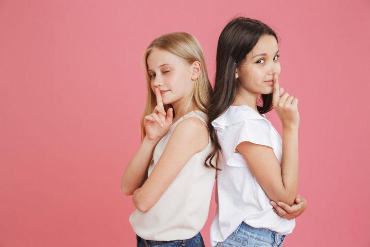 Mädchen in der Vorpubertät