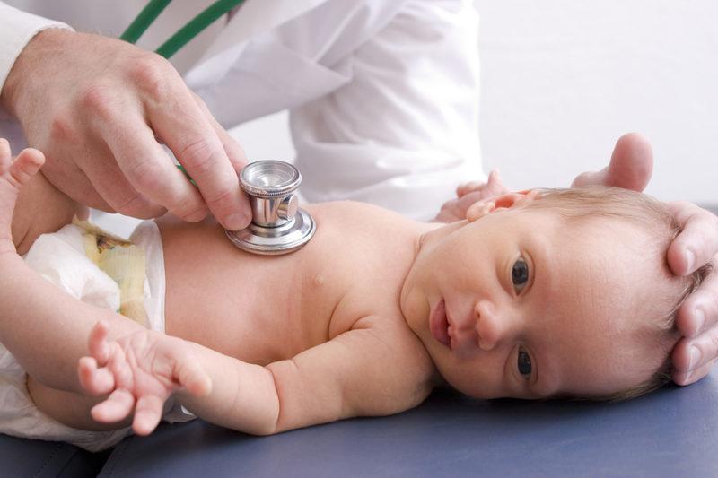 Scharlach bei Säuglingen