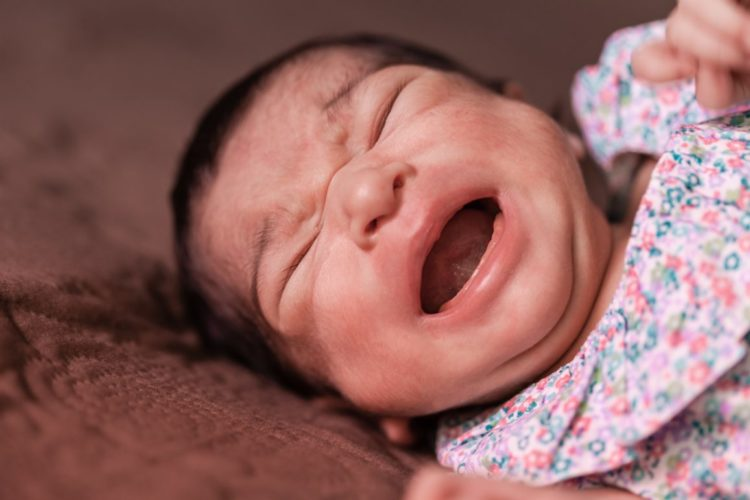 Bauchschmerzen und die Symptome eines Schreibabys Copyright: StockPhotosArt bigstockphoto