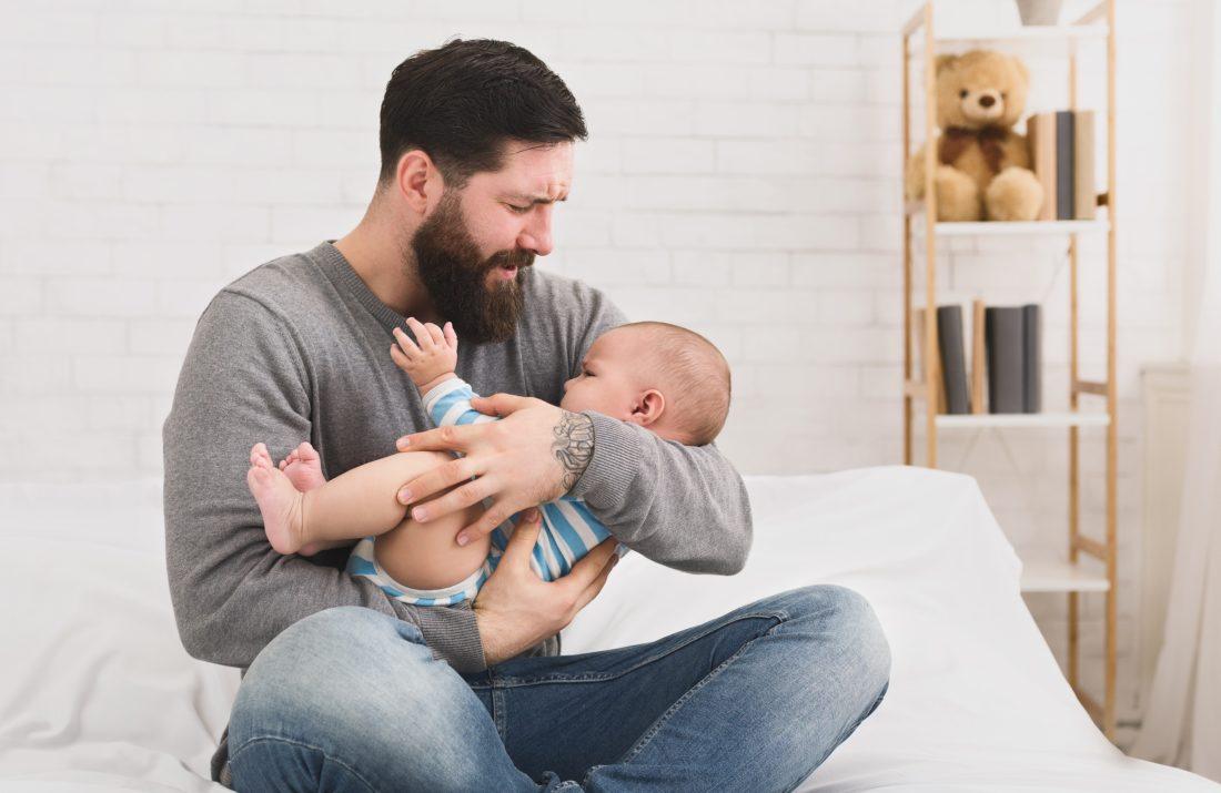 Bauchschmerzen beim Baby