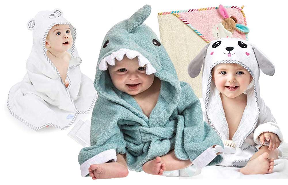 Baby Handtuch mit Kapuze