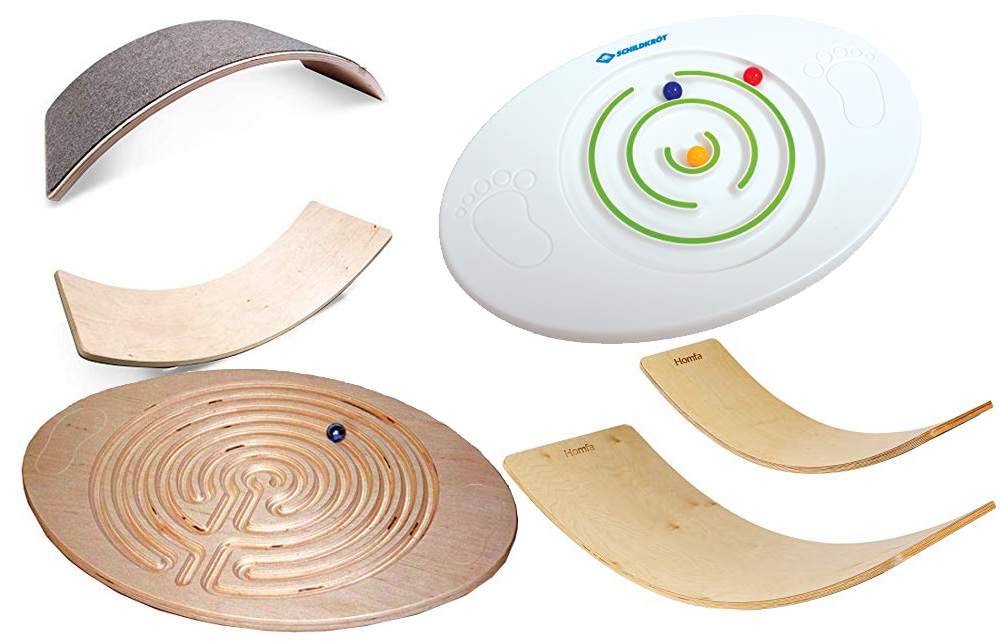 Wackelbrett Balance Board Filz Balance Board Kinder minimalistisches Design