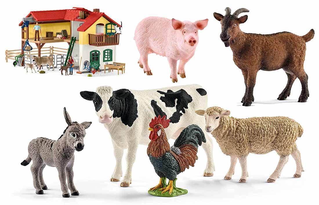Schleich Bauernhof Tiere