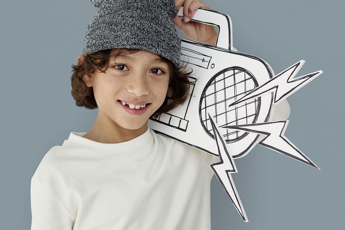 Bluetooth Lautsprecher für Kinder