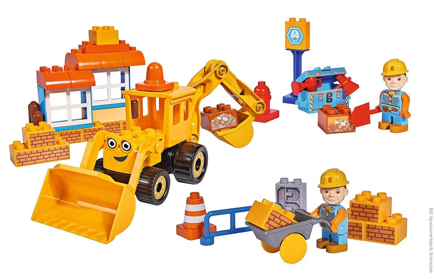 Spielzeug von Bob der Baumeister