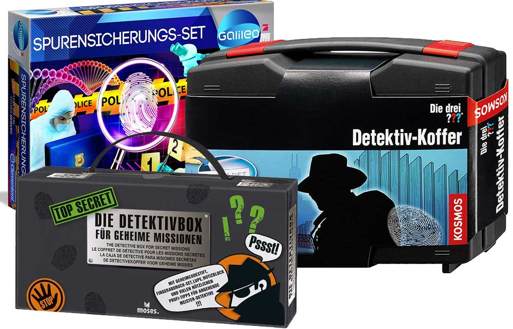 Detektiv-Koffer für Kinder