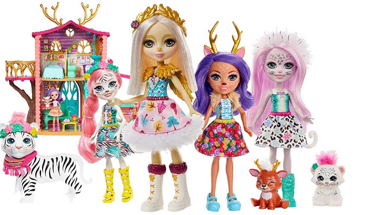 Enchantimals Puppen