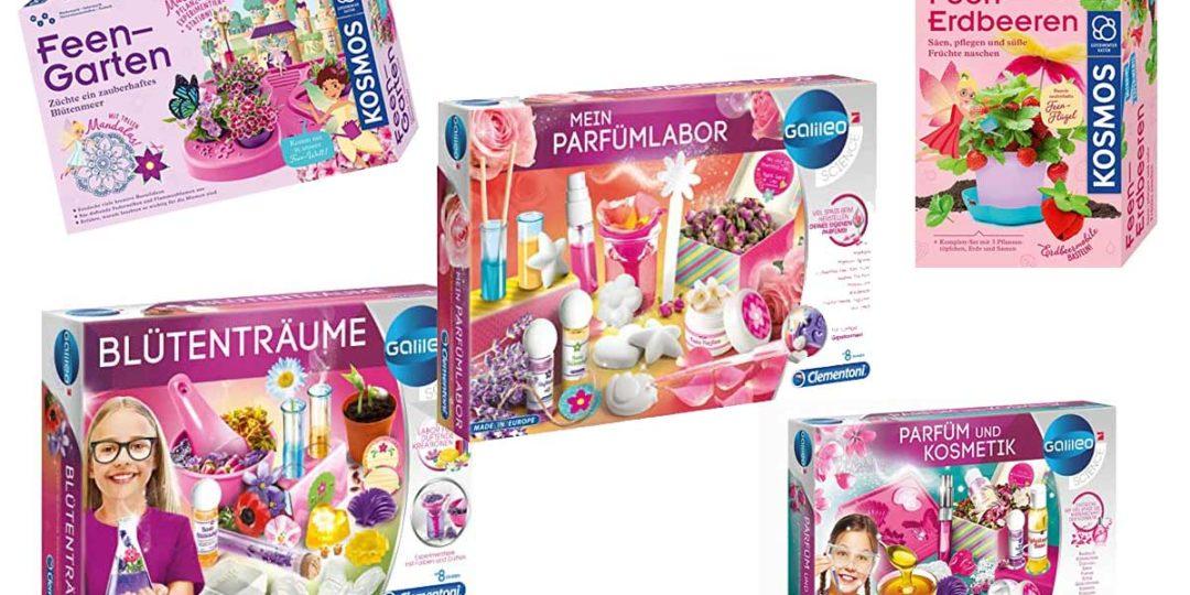 Experimentierkästen für Mädchen