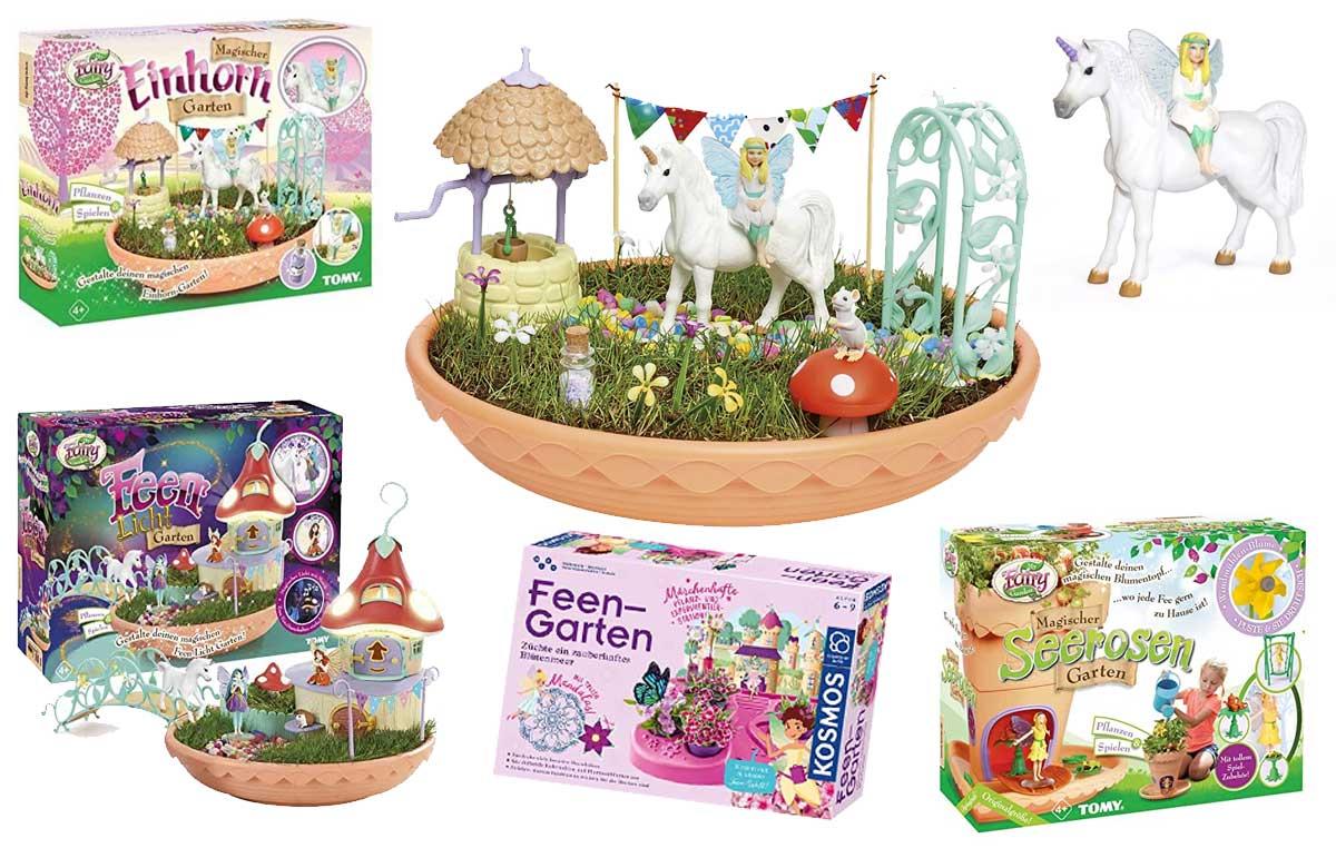 Feen & Einhorn Garten
