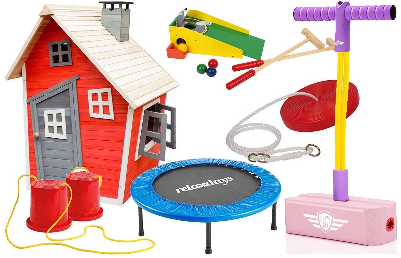 Gartenspielzeuge für Kinder ab 5 Jahre