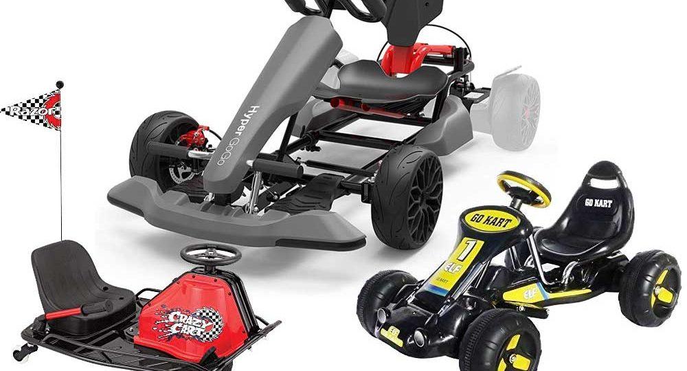 Kinder GoKart mit Motor