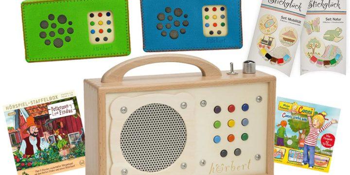 hörbert Musikbox für Kinder
