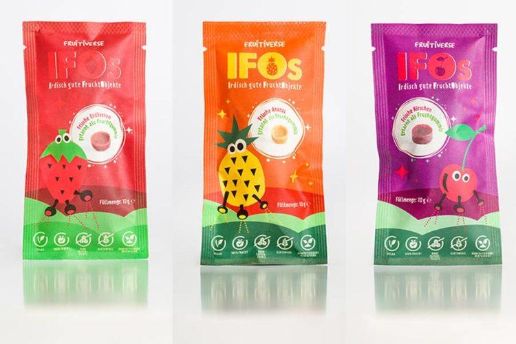 Die IFOs sind gelandet: Bio-Fruchtgummis