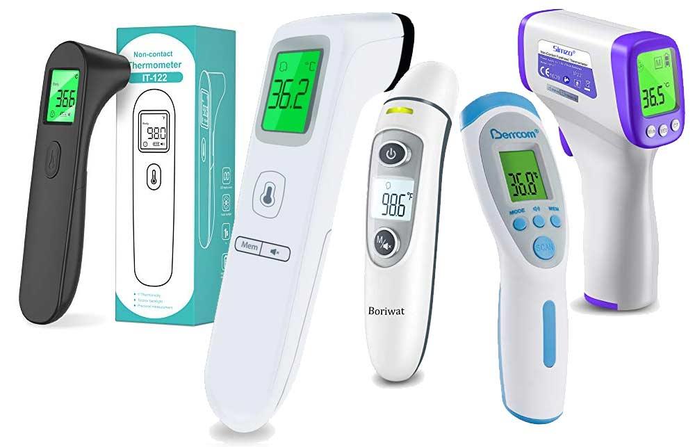 Infrarot Stirnthermometer für Babys