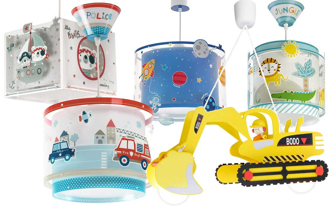 Kinderzimmerlampe Deckenlampe für Jungen
