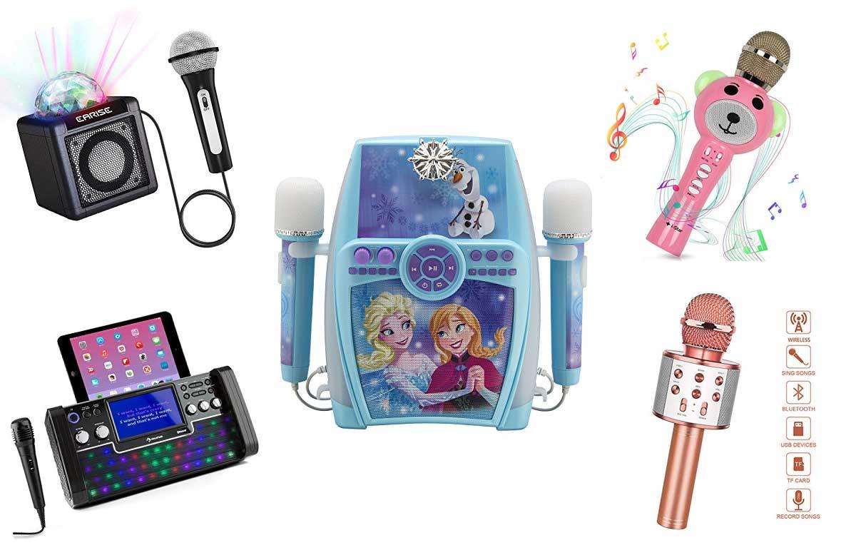 Karaoke Mikrofon und Maschine mit Aufnahme-Funktion