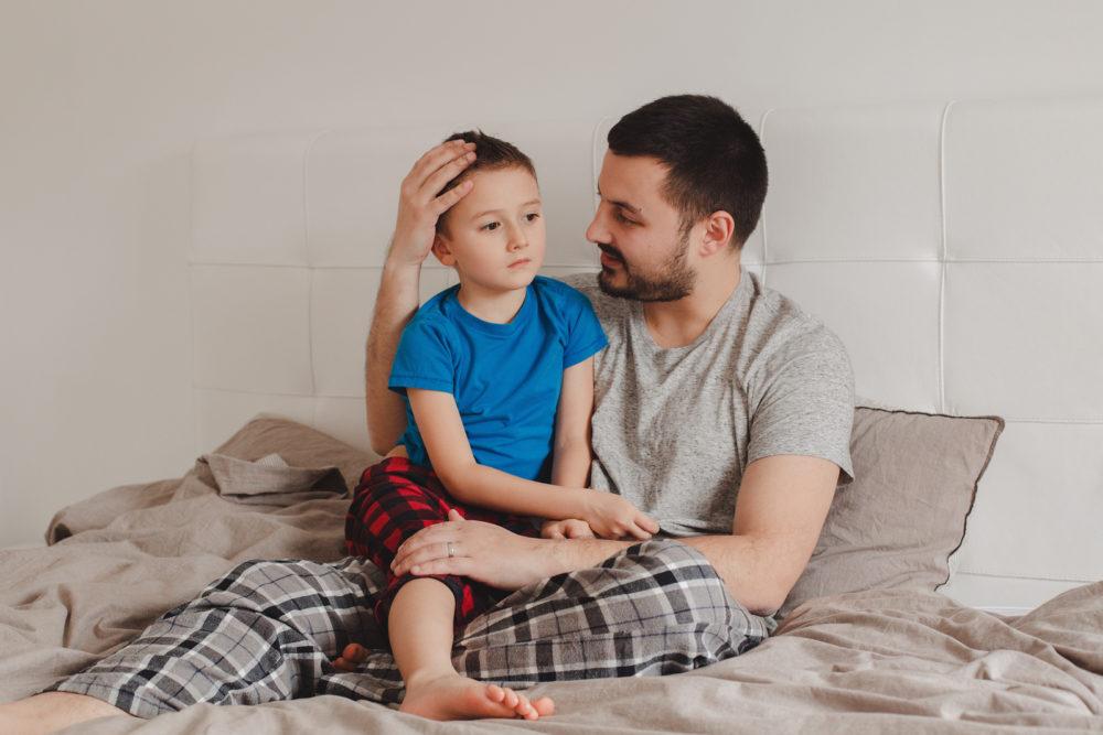 Trennungsgespräch mit Kind führen