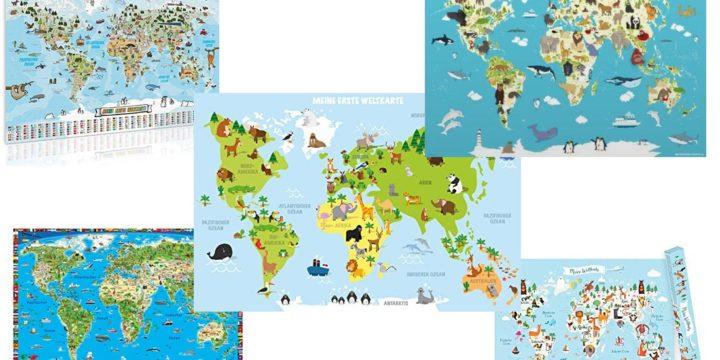 Kinder Weltkarte