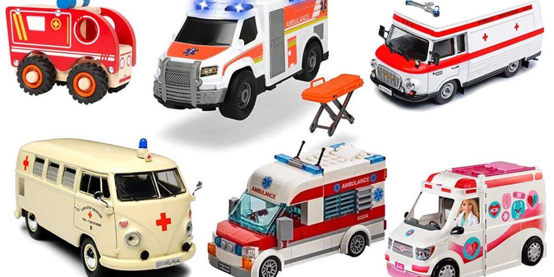 Spielzeug-Krankenwagen