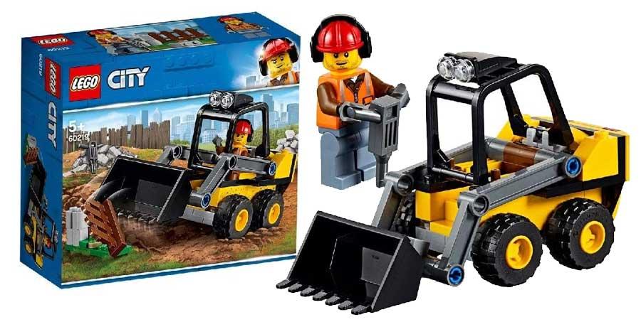 Baumaschinen-Set aus der Lego City