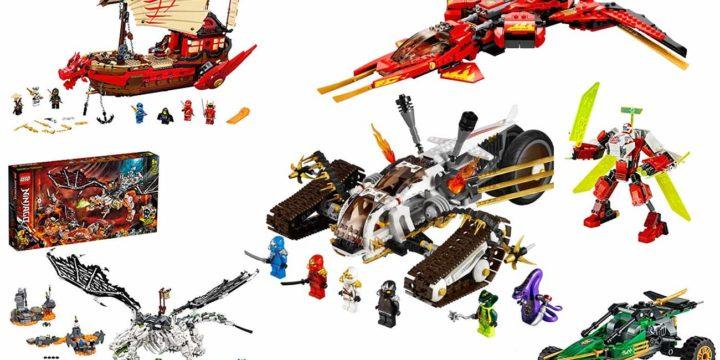 LEGO Ninjago Fahrzeuge für Dein Kind