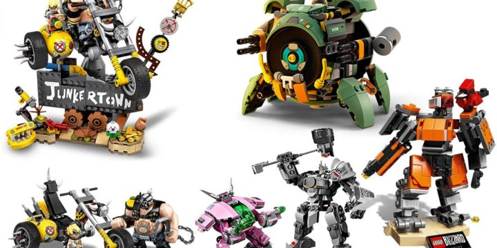 LEGO Overwatch Bausets