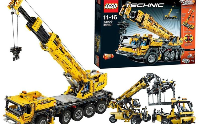 LEGO Schwerlastkran