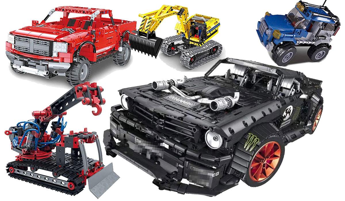 LEGO Technic Alternativen